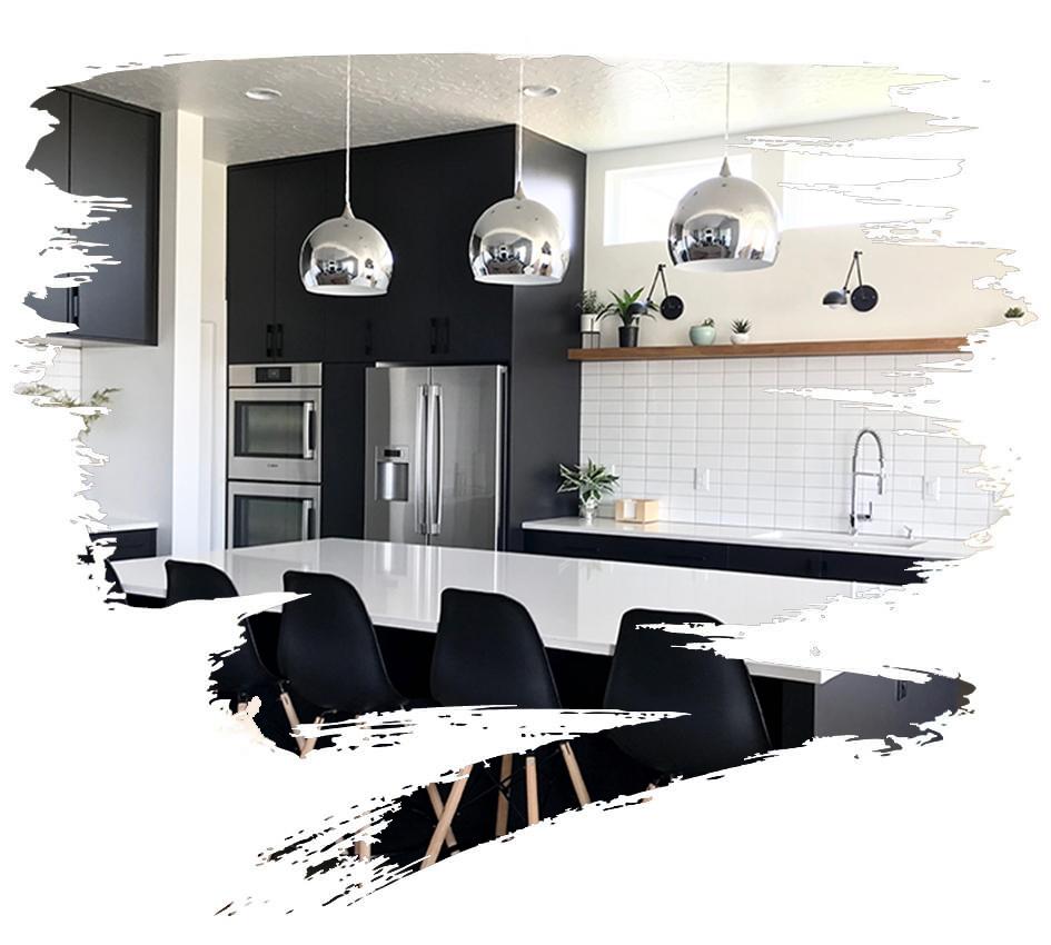 Blackstone Homes kitchen